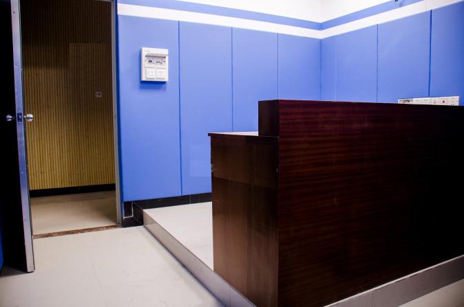 佛山市公安局刑警支队审讯室