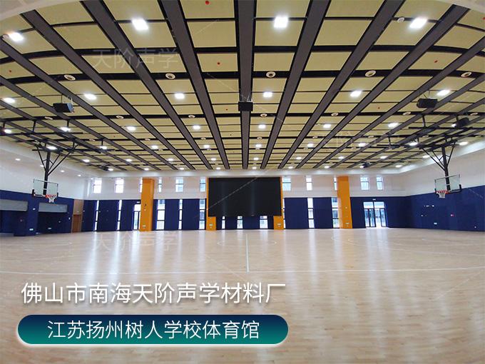 江苏扬州树人学校体育馆