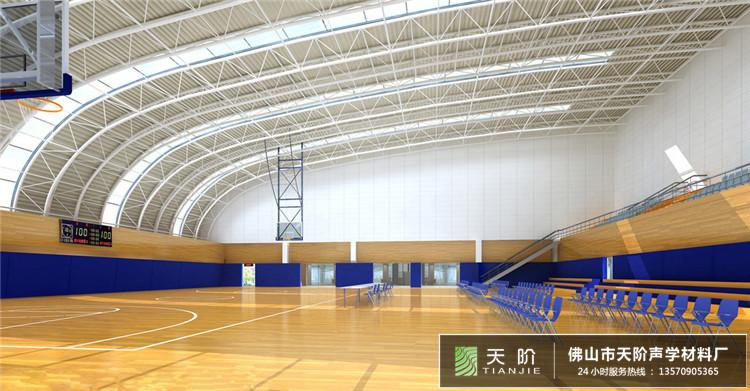 体育馆场所吸音设计方案